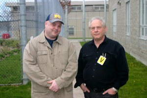 (L to R) Mason Jenkins, John Kastner. Life With Murder. Photo Credit and Courtesy of: John Kastner.