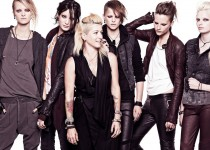 To create the Dragon Tattoo Collection, Swedish fast fashion house H&amp;M hired the films costume designer, Trish Summerville (center). Photo Credit: H&amp;M.
