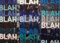 Artwork by Mel Bochner at The Armory Show, New York, NY at Piers 92 & 94. March 8-11, 2012. Photo Credit: Aehee Kang Asano.