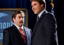 "Zach Galifianakis as Marty Huggins and Will Ferrell as Cam Brady in Warner Bros. Pictures' comedy ""The Campaign,"" a Warner Bros. Pictures release. Photo by Patti Perret. Photo courtesy of Warner Brothers Pictures."