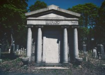 Bayside Cemetery in Queens, New York is one of the oldest Jewish cemeteries in the city with tombstones dating back to the Civil War. Photo Credit: Marianna Jamadi.