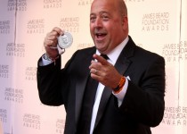 Television personality and Chef Andrew Zimmern at the 2012 James Beard Awards at Alice Tully Hall at Lincoln Center, NYC. Photo Credit: Aehee Kang Asano.
