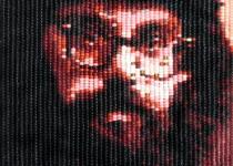A portrait of Allen Ginsberg by Jean-Pierre Séguin. Photo Courtesy of: Jean-Pierre Séguin.