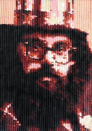 A portrait of Allen Ginsberg by Jean-Pierre Séguin. Photo Courtesy of: Jean-Pierre Séguin.