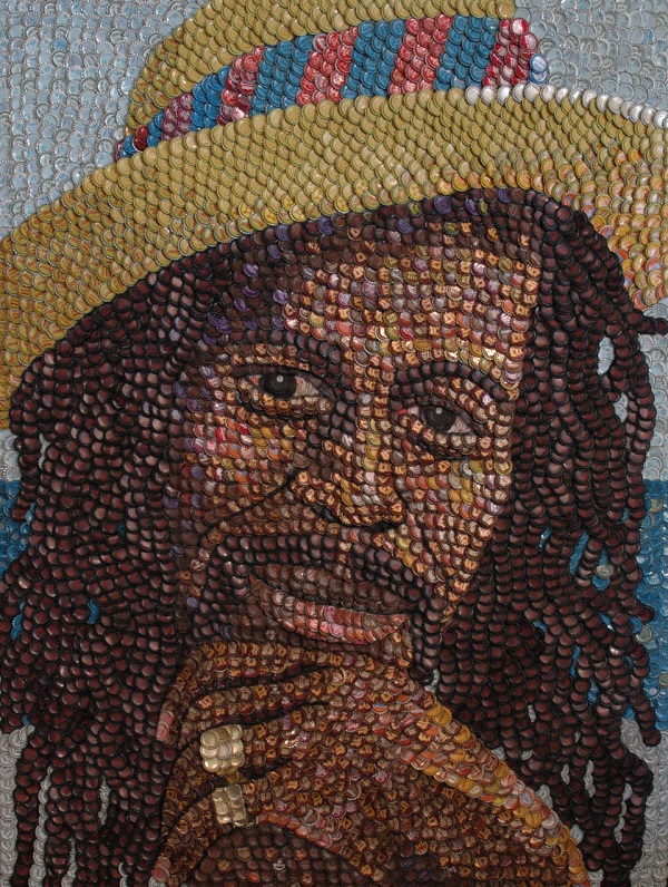 Gregory Isaacs by artist Molly Right. Photo Credit: Molly Right.