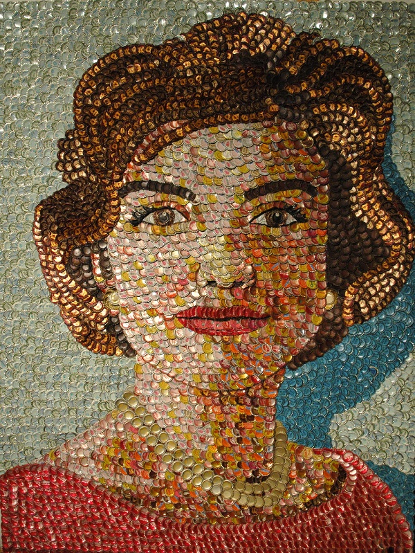 Jackie Kennedy by artist Molly Right. Photo Credit: Molly Right.