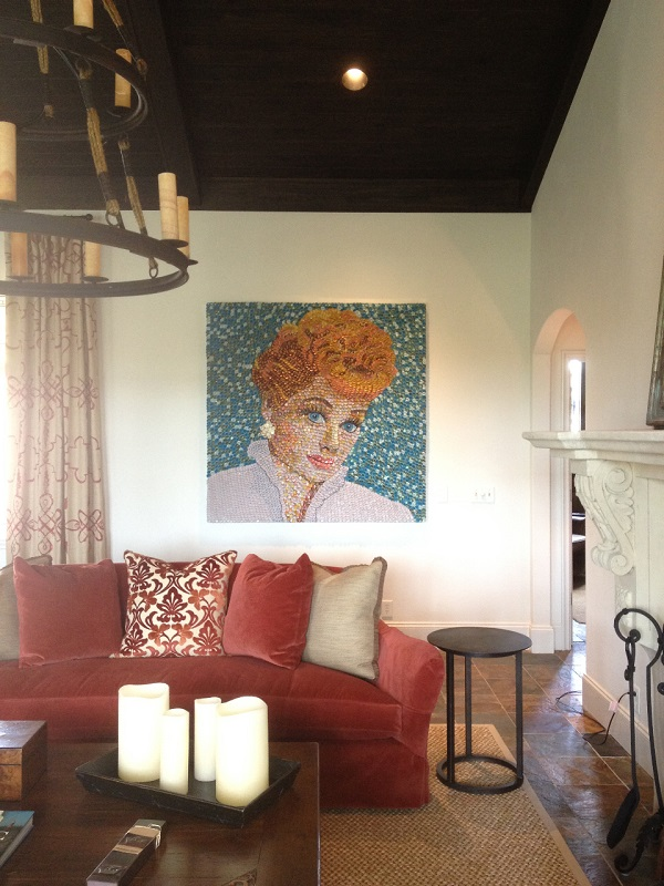 Lucy at the St. Simon's Residence by artist Molly Right. Photo Credit: Molly Right.
