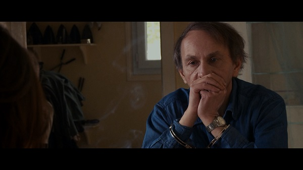 """Michel Houllebecq stars as himself in """"The Kidnapping of Michel Houllebecq."""" LES FILMS DU WORSO ©. Photo Courtesy of: The Tribeca Film Festival."""