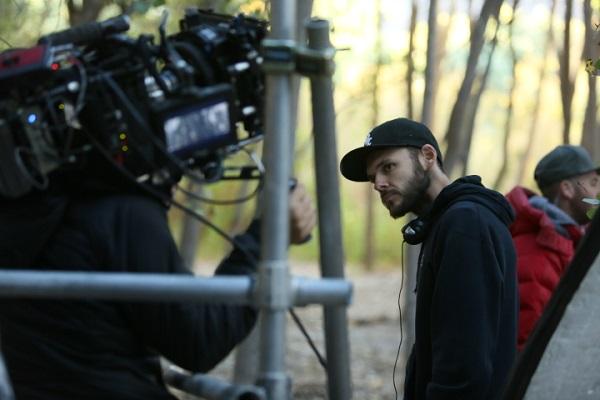 Pictured: Filmmaker Christopher Denham. Photo Credit: Katrina Marcinowski.