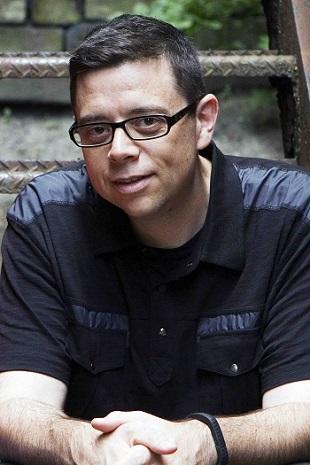 Filmmaker Aron Gaudet. Photo Credit: Shane Leonard.