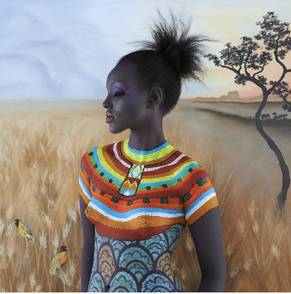 """The African"" from the Beautiful Women collection by Emma Hack. Photo Credit: Emma Hack."