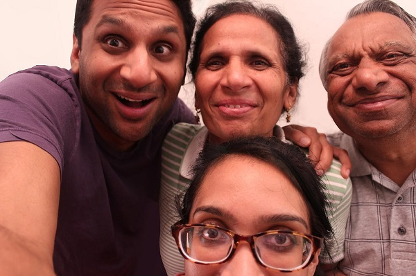 "The patel family from ""Meet the Patels."" Photo Credit: Meet the. © Four in a Billion Pictures."