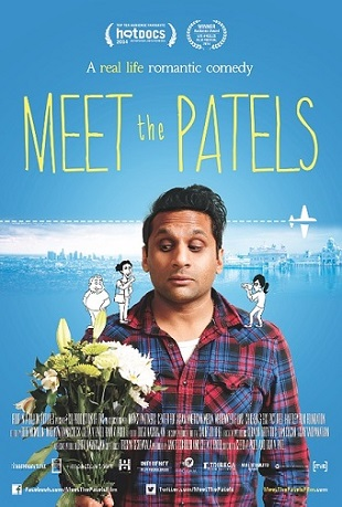 """Meet the Patels"" poster. Photo Credit: Meet the Patels. © Four in a Billion Pictures."