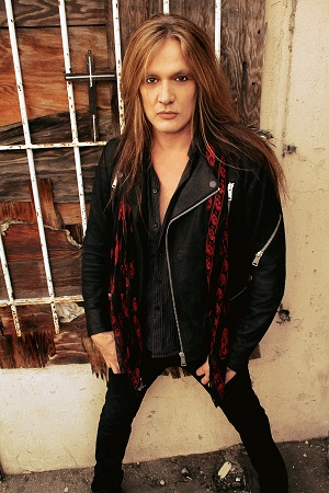 Pictured: Singer Sebastian Bach. Photo Credit: Lizzy Cupcake.