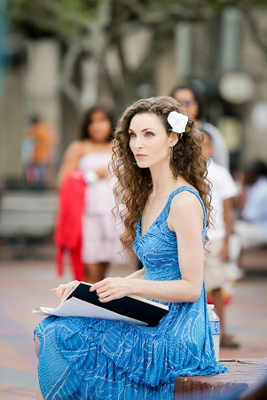 Actress Alicia Minshew. Photo Credit: Maryann Bates.