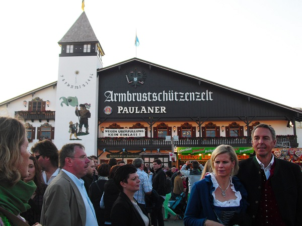 Oktoberfest in Munich, Germany. Photo Credit: Benjamin S. Mack.