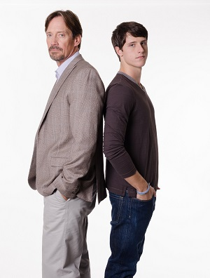 Kevin Sorbo and Shane Harper. Photo: © 2014 Pure Flix Entertainment. All Rights Reserved.