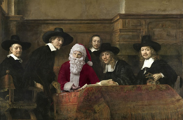 "Photographer Ed Wheeler recreates Rembrandt's ""The Syndics."" Photo Credit: Ed Wheeler."