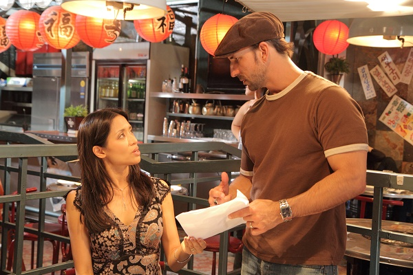 "Actress Chuti Tiu with husband/director Oscar Torre. Photo Credit: ""Pretty Rosebud."""