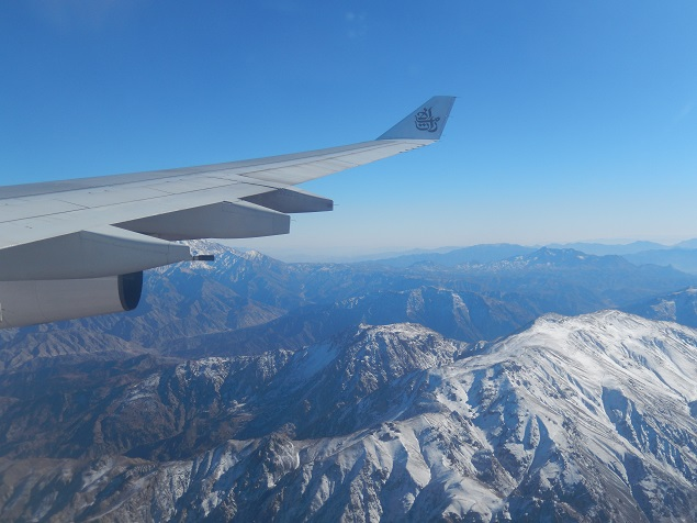 Image taken from flight over Kabul. Photo Credit: Benjamin S. Mack/GALO Magazine.