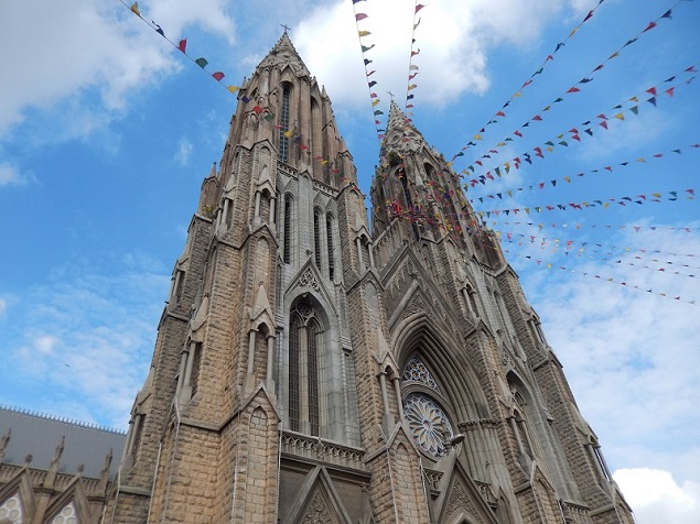 St. Philomena's Church, Mysore. Photo Credit: Benjamin S. Mack/GALO Magazine.