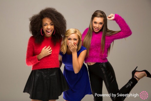 Pop trio Sweet Suspense. Photo Credit: Sweetyhigh.