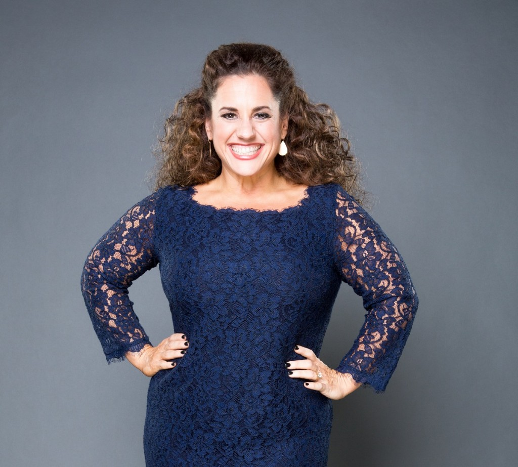 Actress Marissa Jaret Winokur. Photo Credit: Kyle Christy/TLC.