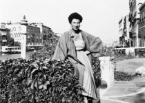 Peggy Guggenheim in front of her Palazzo. Photo: Peggy Guggenheim Collection Archives, Venice/Tribeca Film Festival.