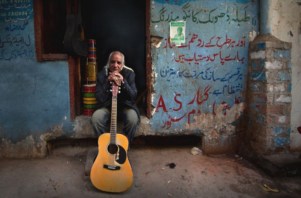 Pictured: Musician Asad Ali. Photo Credit: Mobeen Ansari.