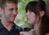 """Michael Welch and Michelle Hendley in """"Boy Meets Girl."""" Photo courtesy of Wolfe Video."""