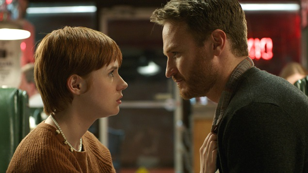 Actors Karen Gillan and Josh Lawson. Cinematographer: Djordje Arambasic.