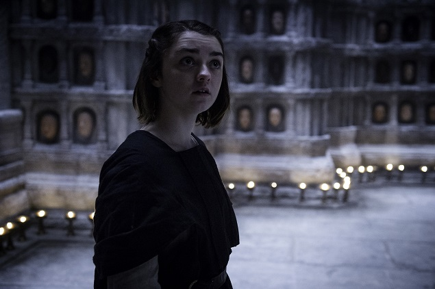 "Maisie Williams as Arya Stark in ""Game of Thrones"" Season 5, episode 6. Photo: Helen Sloan/courtesy of HBO."
