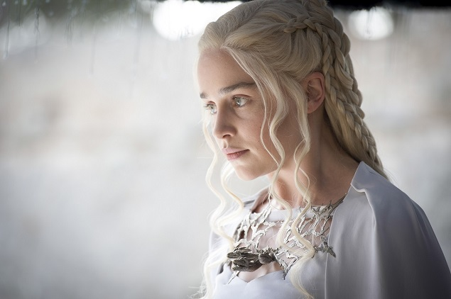 "Emilia Clarke in ""Game of Thrones"" season 5, episode 7. Photo: Macall B. Polay/courtesy of HBO."