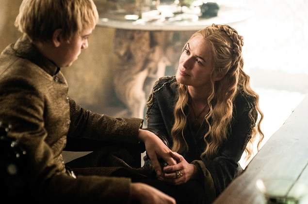 "Dean-Charles Chapman and Lena Headey Clarke in ""Game of Thrones"" season 5, episode 7. Photo: Helen Sloan/courtesy of HBO."