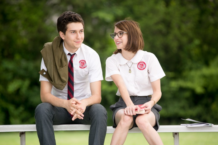 "Ed (Nat Wolff) and Eloise (Emma Roberts) in a scene from the film ""Ashby."" Photo: Christopher Baffa."