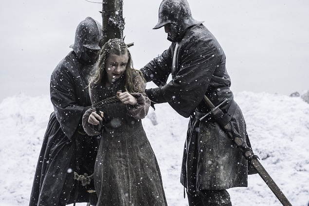 Kerry Ingram stars in 'Game of Thrones' season 5, episode 9. Photo: Helen Sloan/courtesy of HBO.