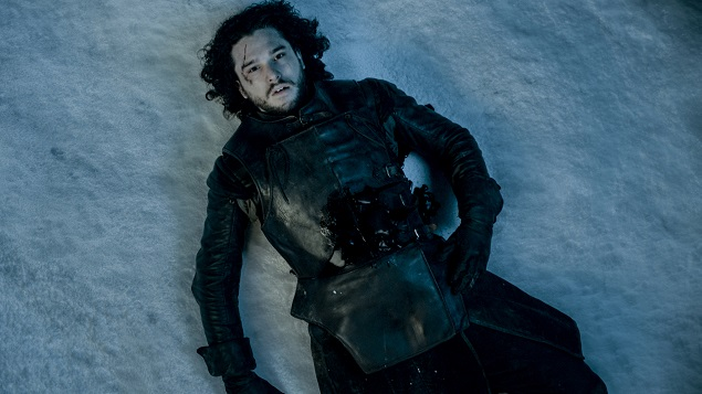 Kit Harington stars in Game of Thrones' Season 5, episode 10. Photo: Helen Sloan/courtesy of HBO.