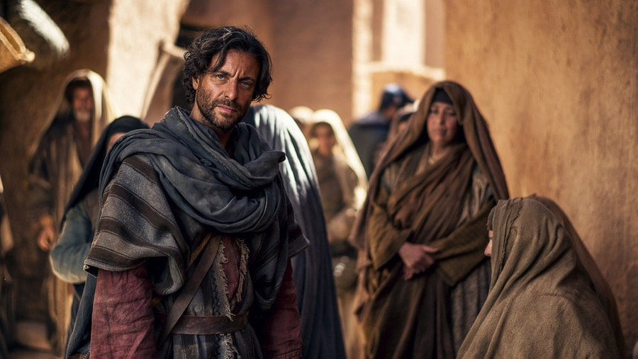 "Adam Levy as Peter in NBC's ""A.D. The Bible Continues."" Photo: Joe Alblas/LightWorkers Media/NBC."