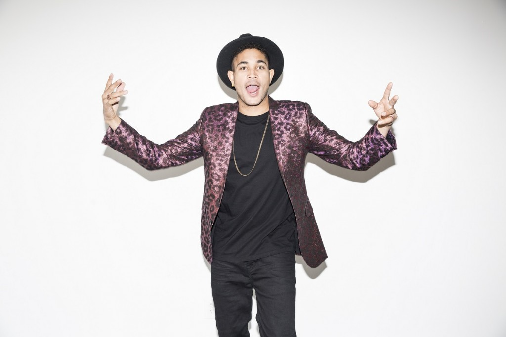 Rapper Bryce Vine. Photo: Nikko LaMere.