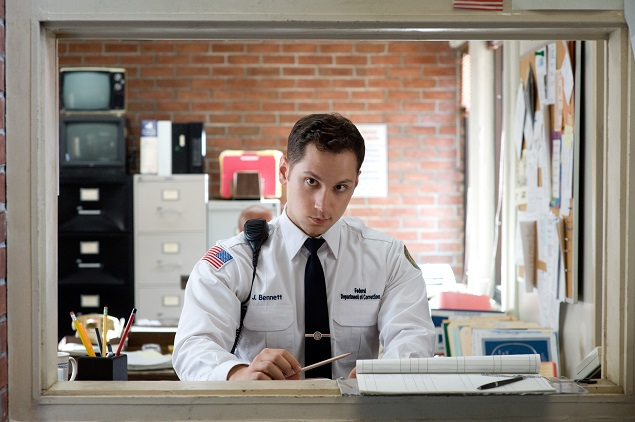 "Matt McGorry in Season 3 of Netflix's ""Orange is the New Black"". Photo Credit: JoJo Whilden for Netflix."