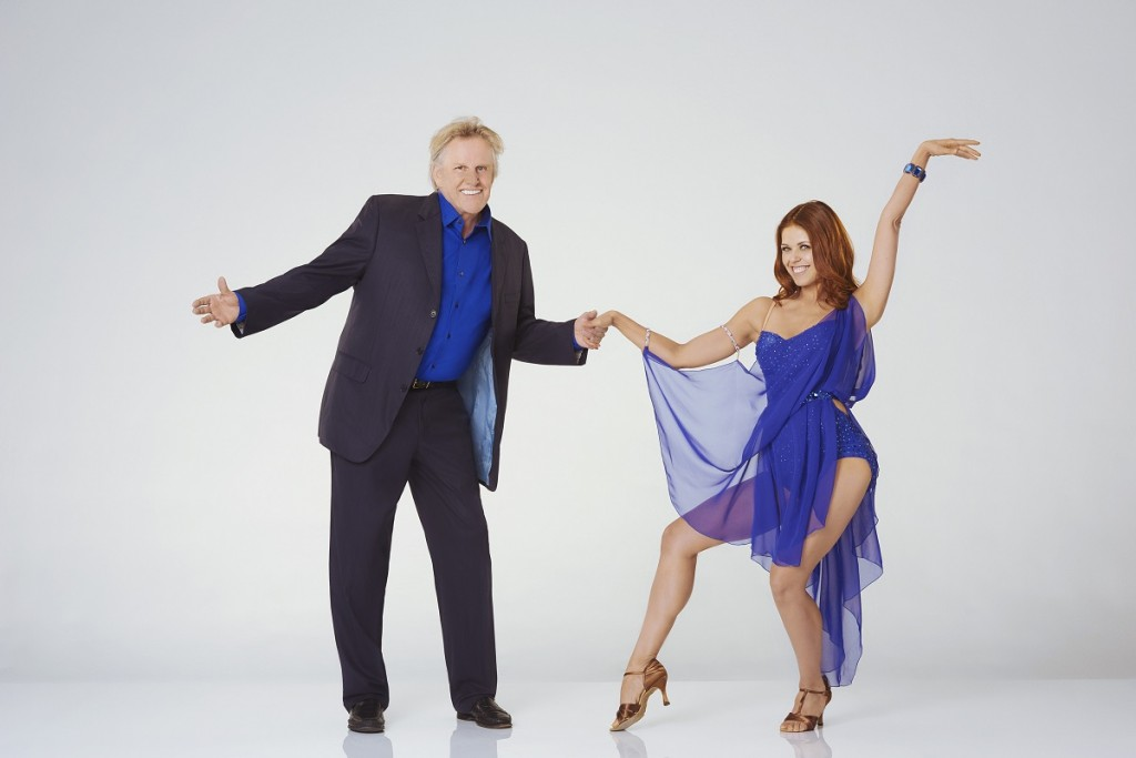 Gary Busey and Anna Trebunskaya in Season 21 of ABC's Dancing with the Stars. Photo Credit: ABC/Bob D'Amico.