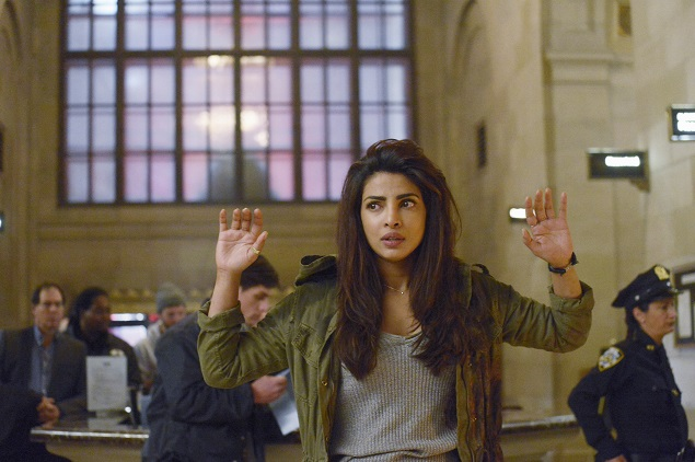 Priyanka Chopra stars as Alex Parrish in ABC's Quantico. Photo Credit: ABC/Phillippe Bosse.