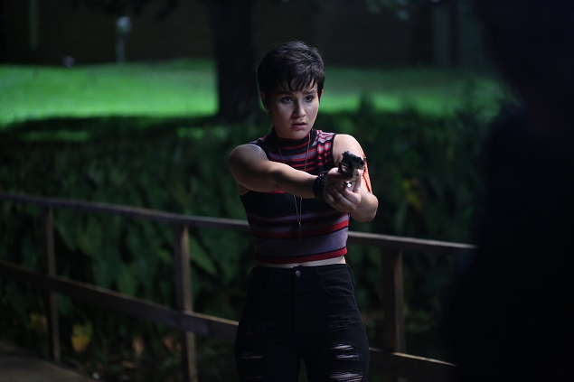 "Audrey (Bex Taylor-Klaus) in Episode 110 of MTV's ""Scream."" Photo Credit: MTV."
