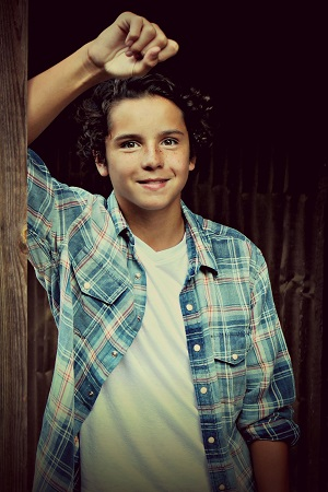 Actor Noah Lomax. Photo: Gallagher Photography.
