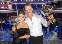 "DANCING WITH THE STARS - ""Episode 2111A"" - Bindi Irwin and Derek Hough were crowned Season 21 champions during the two-hour season finale of ""Dancing with the Stars,"" TUESDAY, NOVEMBER 24 (9:00-11:00 p.m., ET), on ABC. (ABC/Adam Taylor)"