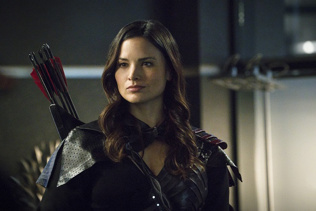 "Katrina Law as Nyssa al Ghul in Arrow's ""My Name is Oliver Queen"" episode. Photo: Liane Hentscher/The CW -- © 2015 The CW Network, LLC. All Rights Reserved."