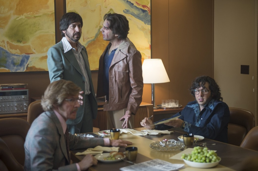 """Vinyl"" episode 2: J.C. Mackenzie, Ray Romano, Bobby Cannavale, P.J. Byrne. Photo Credit: Macall B. Polay/HBO."