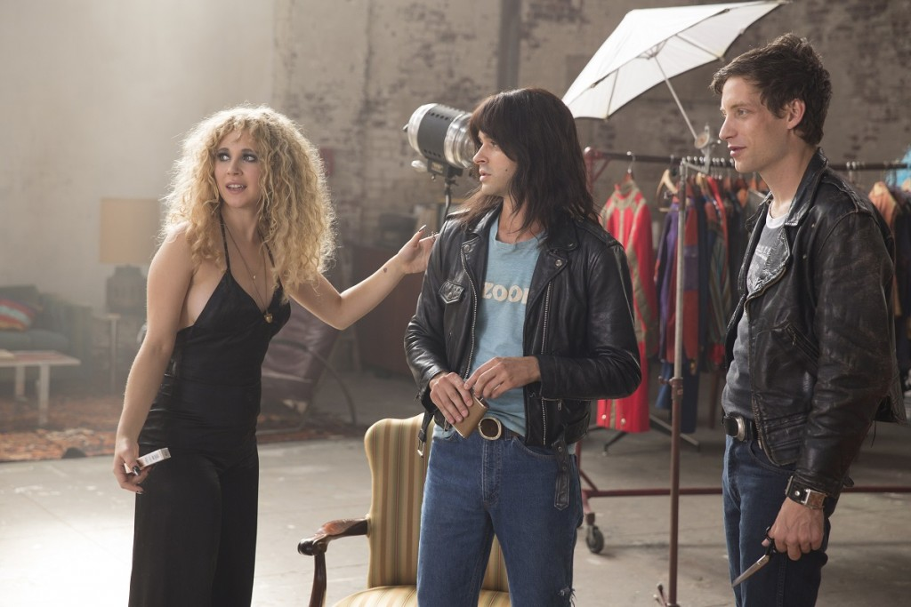 Episode 9: Juno Temple, Val Emmish, James Jagger. photo: Patrick Harbron/HBO.