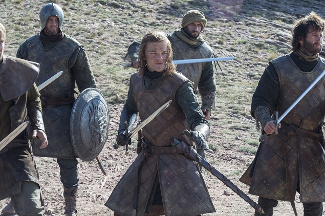 Robert Aramayo as a young Ned Stark in Game of Thrones Season 6, episode 3. Photo Credit: Macall B. Polay/courtesy of HBO.