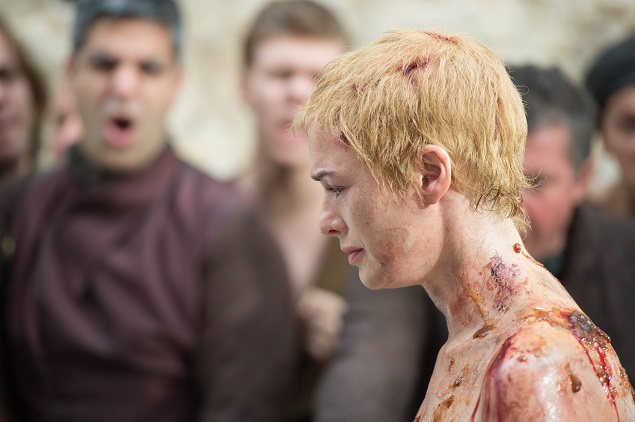 Lena Headey as Cersei Lannister. Photo Credit: Macall B. Polay/courtesy of HBO.